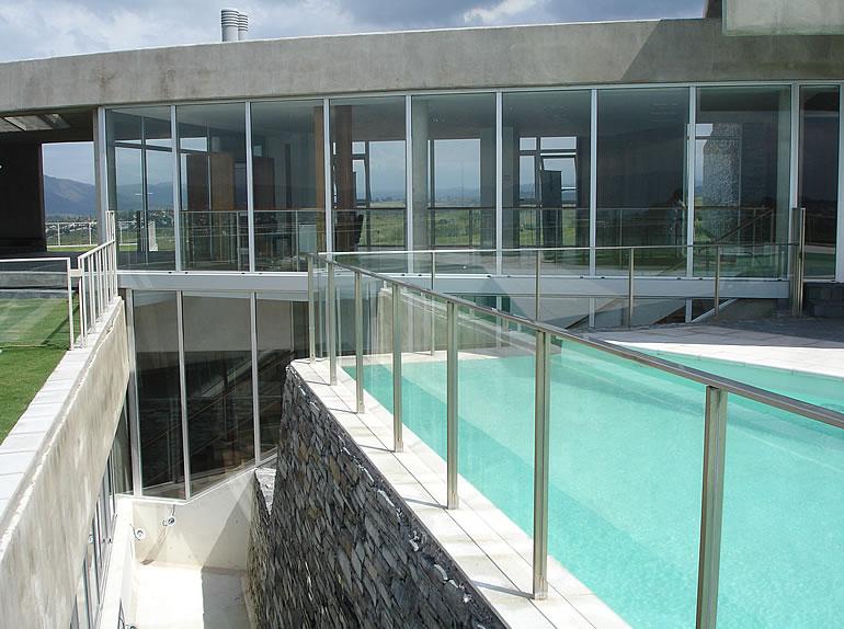 Barandillas para terrazas finest barandilla de cristal y for Barandas para terrazas