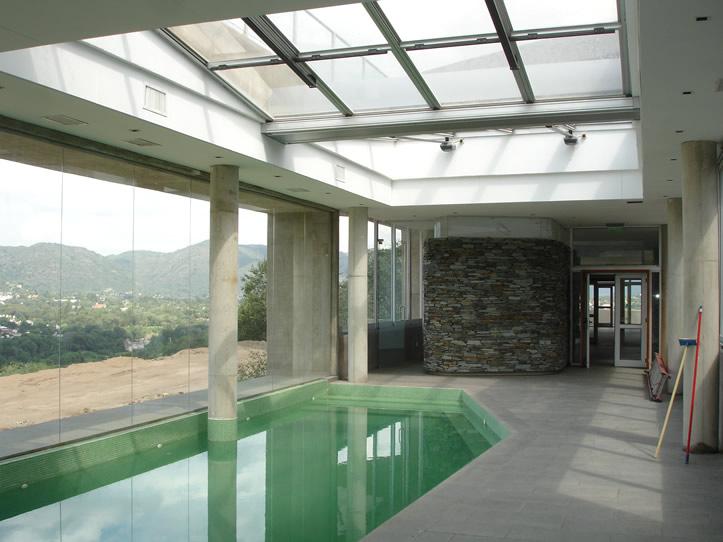 Euroaluminio - Techos de vidrio para terrazas ...